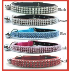 Majestic Cat 3 Row Collar Selection