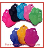 Paw Print IDTag Colours